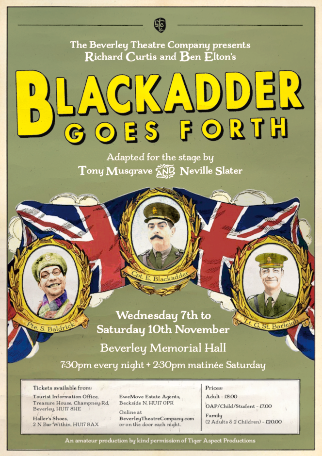BlackAdder Comedy Theatre in Beverley