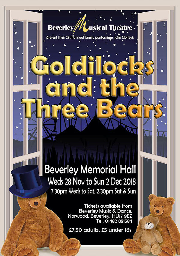 Goldilocks Pantomime in Beverley