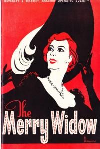 Merry Widow production in Beverley 1959