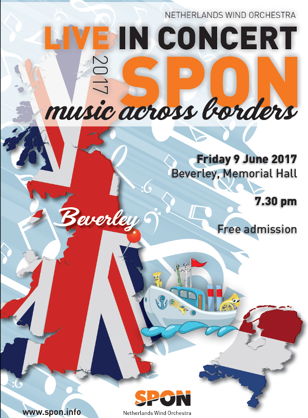 SPON - Netherlands Wind Orchestra in Beverley 2017