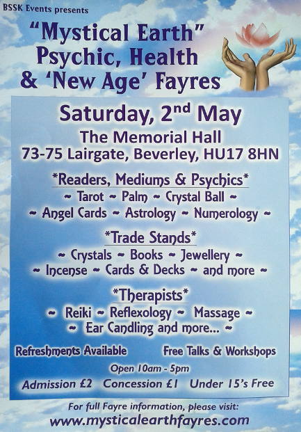 Mystical Earth Psychic & Nwew Agw Fayre