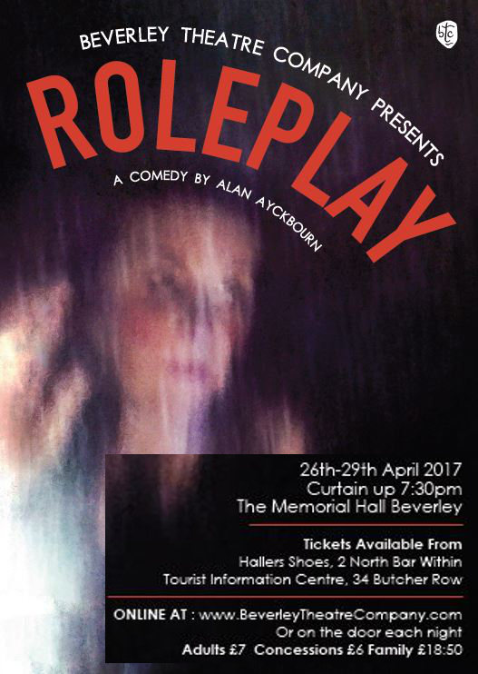 RolePlay acomedy by Alan Ayckbourn