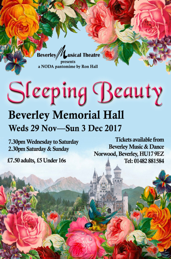 Pantomime in Beverley East Yorkshire, Sleeping Beauty