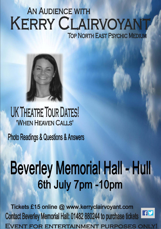 clairvoyant psychic medium spiritualist in beverley