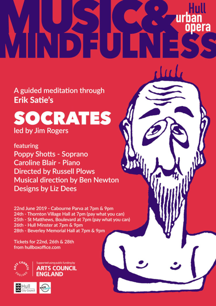 Music and Mindfulness, an urban opera in Beverley, East Yorkshire.