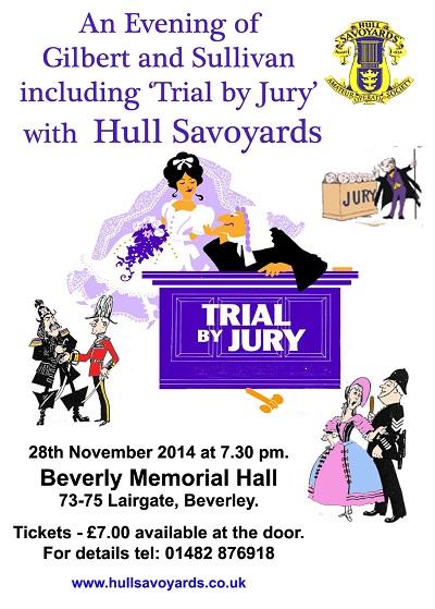 savoyards-poster Nov 2014 concert Beverley 400px